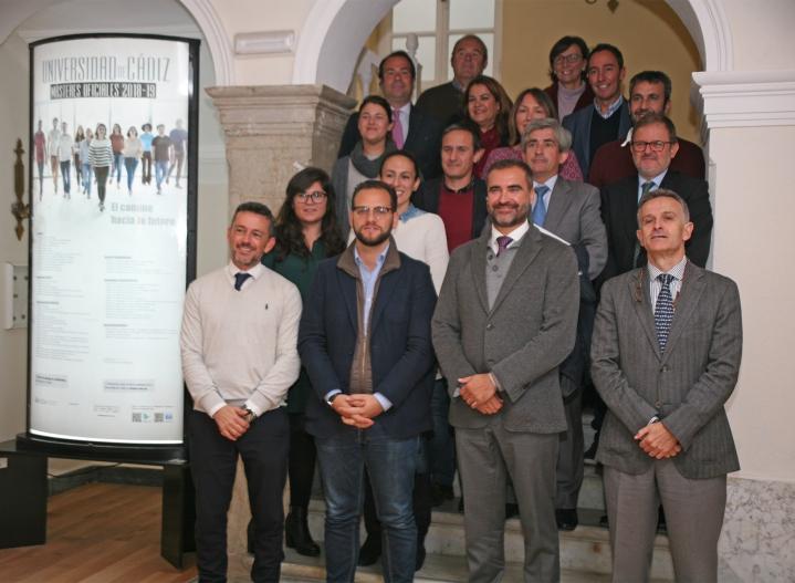 Foto de presentación de la Semana Global del Emprendimiento en la UCA